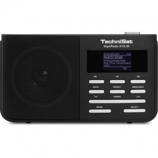 TechniSat DigitRadio 210 IR (Portables DAB+ und UKW Digitalradio mit Internetradio)