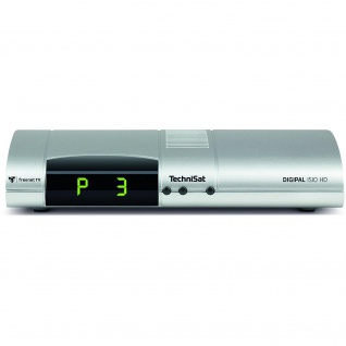 TechniSat DigiPal ISIO HD, silber (Digitaler DVB-T2 Receiver)