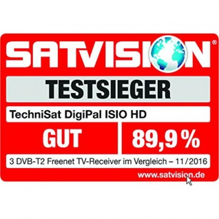 TechniSat DigiPal ISIO HD, silber (Digitaler DVB-T2 Receiver) 4