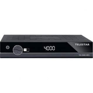 TELESTAR TD 2300 HD+ HDTV Satelliten-Receiver (HDMI, inkl. HD+ Karte, EPI, HDMI, USB)