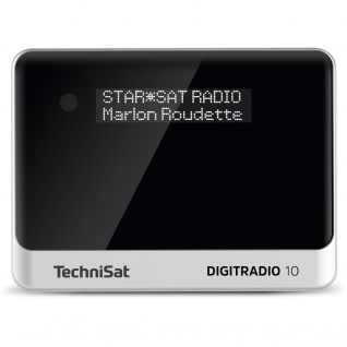 TechniSat DIGITRADIO 10 DAB+/UKW-Empfangsteil/Radioadapter mit OLED-Display und Bluetooth-Audiostreaming