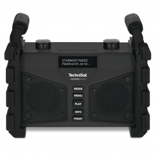 TechniSat DIGITRADIO 230 OD DAB+ Digitalradio (leistungsstarker Akku, USB, DAB+, AUX, Bluetooth, UKW, FM)