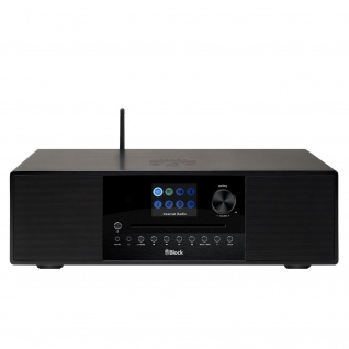 Block SR-100 smartes Internetradio und DAB+ Digitalradio (Farbdisplay, Spotify, Bluetooth, DLNA, UPnP)
