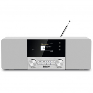 TechniSat DIGITRADIO 4 C (Radio, Digitalradio, DAB+, UKW, Bluetooth, Farbdisplay, AUX, Radiowecker)