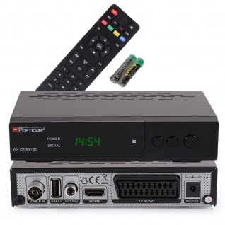 Opticum RED AX C 100 HD DVB-C Receiver HDTV, DVB-C, HDMI, SCART, USB