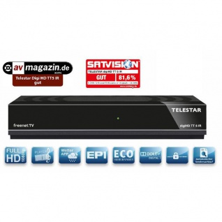 Telestar Digihd Tt 5 Ir Dvb-t2 Hd Freenet Tv Receiver B-ware 1