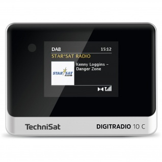 TechniSat DIGITRADIO 10 C (DAB+, Radio, Digitalradio, Bluetooth, Streamingdienste)