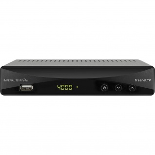 IMPERIAL T2 IR Plus DVB-T2 HD Receiver mit 12 Monate freenet TV und PVR Funktion