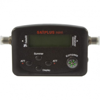 TELESTAR SATPLUS mini Satfinder mit LCD Display