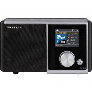 TELESTAR M 12i Internetradio (Radio, USB Musikplayer, MP3, WMA, AAC, WiFi)