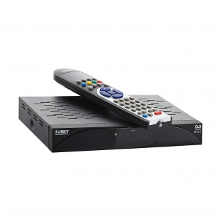TelSKY ES 2012, schwarz (Digitaler Satellitenreceiver)