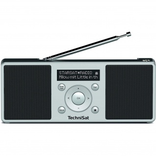 TechniSat DIGITRADIO 1 S Portables DAB+/UKW Digitalradio mit Stereosound
