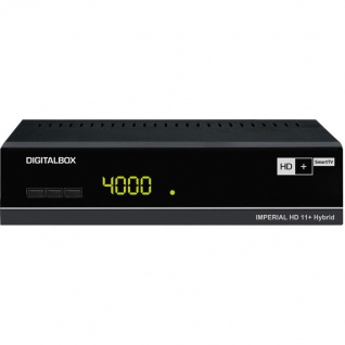 DigitalBOX IMPERIAL HD 11+ Hybrid, schwarz (HDTV-Satellitenreceiver)