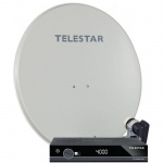 TELESTAR DIGIRAPID 80A, SKYSINGLE HC LNB und TD 2300 HD+, beige (HD+ Komplettpaket mit 1 Receiver)