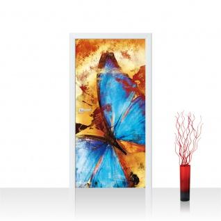 Türtapete - Abstrakt Schmetterling | no. 536 - Vorschau 1
