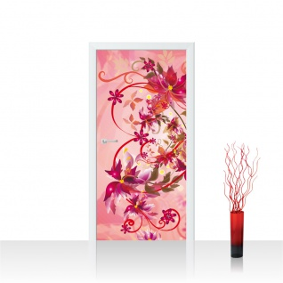 Türtapete - Ornamente Blumen | no. 1056