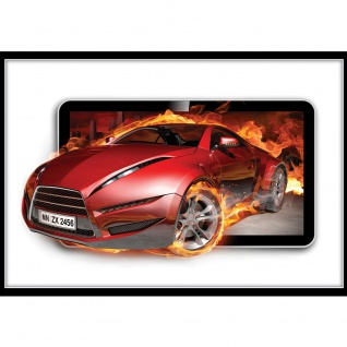 Fototapete Autos Tapete Sportwagen, Fahrzeug rot | no. 3563