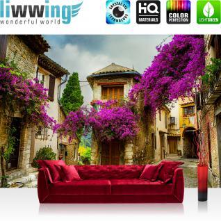 liwwing Vlies Fototapete 300x210 cm PREMIUM PLUS Wand Foto Tapete Wand Bild Vliestapete - Stadt Frankreich Province - no. 226