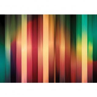 Fototapete Illustrationen Tapete Abstrakt Streifen Muster vektorgrafik Illustrationen bunt blau gelb rot | no. 367