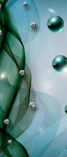 Türtapete - Abstrakt Netz Perle Murmel Diamant   no. 799 - Vorschau 5