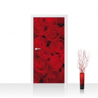 Türtapete - Rosen Blüten | no. 726