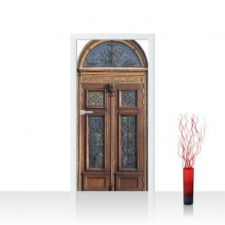 Türtapete - Sonstiges Tür Holz Alt Antik | no. 4273