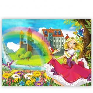 Leinwandbild My Little Princess Kinder Fee Elfen Märchenland Prinzessin   no. 114 - Vorschau 2