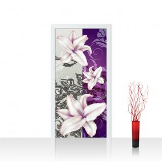 Türtapete - Ornamente Blumen | no. 303
