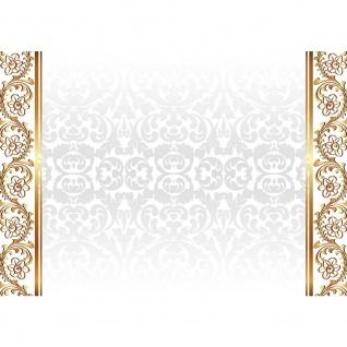 Fototapete Ornamente Tapete Blume Abstrakt gold   no. 1236