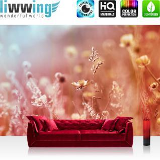 liwwing Vlies Fototapete 350x245 cm PREMIUM PLUS Wand Foto Tapete Wand Bild Vliestapete - Blumen Blüte Natur - no. 198