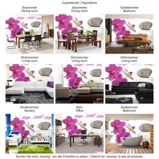 liwwing Fototapete 368x254 cm PREMIUM Wand Foto Tapete Wand Bild Papiertapete - Wellness Tapete Orchideen Wellness Steine Wasser pink - no. 3164 - Vorschau 5