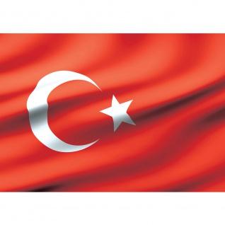 Fototapete Geographie Tapete Flagge Fahne Türkei Mond Stern rot   no. 2310