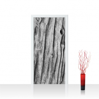 Türtapete - Natur Holz Maserung Baumholz Brett | no. 4287