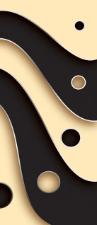 Türtapete - Abstrakt Streifen Kreise | no. 808 - Vorschau 5