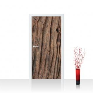 Türtapete - Natur Holz Maserung Baumholz Brett | no. 4288