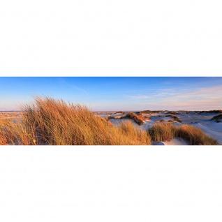Leinwandbild Strand Düne Wasser Beach Ausblick | no. 246 - Vorschau 3