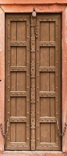 Türtapete - Sonstiges Tür Holz Alt Antik Kette   no. 4284 - Vorschau 5