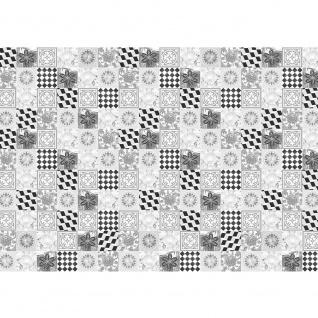 Fototapete Texturen Tapete Kacheln, Fließen, Schachbrett, Retro, schwarz - weiß | no. 3508