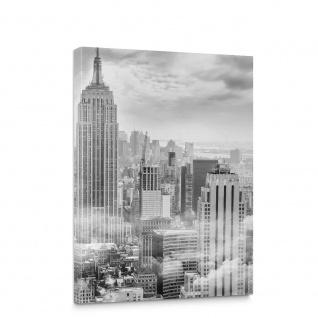 Leinwandbild New York Skyline Stadt Wolkenkratzer | no. 5163