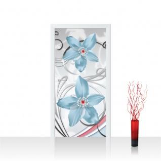 Türtapete - Ornamente Blumen | no. 306