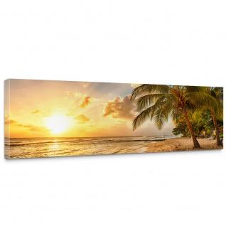 Leinwandbild Dream Beach Strand Meer Sonnenaufgang Beach Wasser Himmel Sommer | no. 42