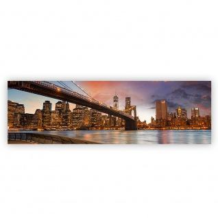 Leinwandbild New York Bridges Skyline New York City USA Amerika Big Apple | no. 21 - Vorschau 2