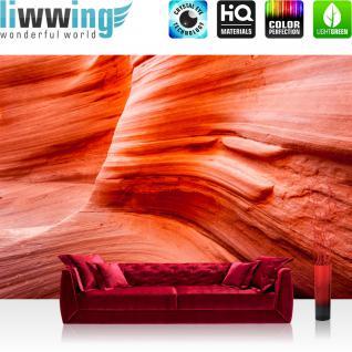liwwing Vlies Fototapete 350x245 cm PREMIUM PLUS Wand Foto Tapete Wand Bild Vliestapete - Sand Düne Wüste - no. 234