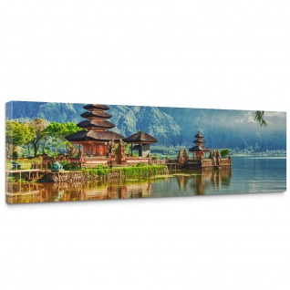 Leinwandbild Bali Tempel Wasser Natur | no. 248