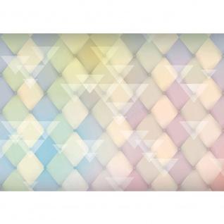 Fototapete Illustrationen Tapete Abstrakt Rechtecke groß Dreiecke Formen bunt Muster Illustrationen gelb | no. 391 - Vorschau 1