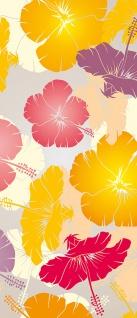 Türtapete - Abstrakt Blüten | no. 1107 - Vorschau 5