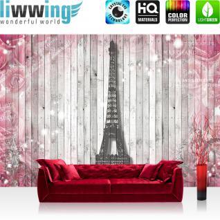 Liwwing Fototapete 254x168 Cm PREMIUM Wand Foto Tapete Wand Bild  Papiertapete   Holz Tapete Holzwand Holzoptik