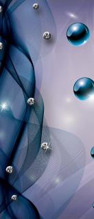 Türtapete - Abstrakt Netz Perle Murmel Diamant   no. 801 - Vorschau 5