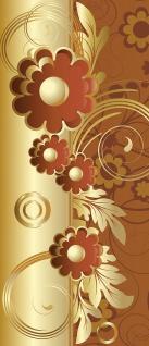 Türtapete - Abstrakt Ornamente Blumen | no. 545 - Vorschau 5