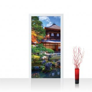 Türtapete - Japan Tempel Haus Eden | no. 1098